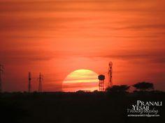 Setting Sun in Jaisalmer