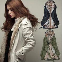 Women winter thicken coat
