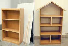 DIY Dollhouse plans old drawers upcycling ideas build instructions