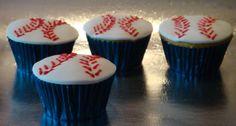 Baseball cupcakes ! By Ponquesi.com