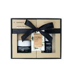 Just gifted myself this set! ~ KORRES Black Pine Day Cream & Eye Cream Gift Set | Dry & Very Dry Skin