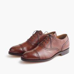 Ludlow semi-brogue oxfords : dress shoes | J.Crew