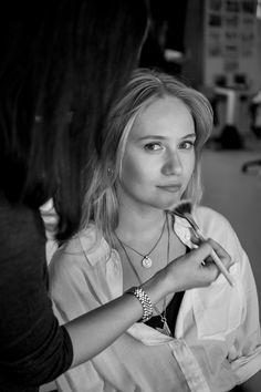 Picturepark Studios, Hamburg working in the Studio for C&A  Make-Up Artist