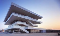 America's Cup Pavillion in Valencia by architect David Chipperfield.