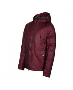 Paul   Shark Sharkhub  02 Red Fire Parka - Iconic Designer Menswear Mens  Down Jacket 69d275f375f1