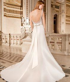 Illusion Style 3210  by Demetrios #MacysBridalSalon #chicago #bridal #gown #weddingdress #Demetrios