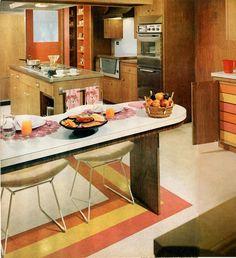 cuisine avec bar on pinterest cuisine bar and plan de travail. Black Bedroom Furniture Sets. Home Design Ideas