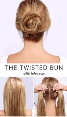 Twist Bun#Hair#Trusper#Tip
