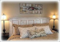 Old Doors-headboard