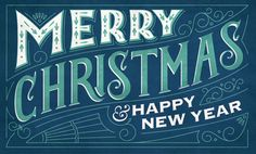 55+ Beautiful Typography Ideas For Christmas 2014 - A Graphic World