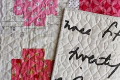 Figure eight quilting