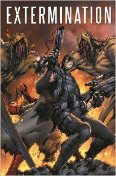 Extermination Vol 1 and 2 by Simon Spurrier  heroes and villains must team up to destroy aliens!