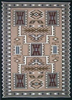Navajo Weaving - Storm Pattern 02