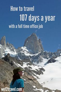 An office job and a career doesn't mean you can't travel! I've successfully combined my full time office job with more than 100 days of traveling 2 years in a row now. Curious how? Check my blog!
