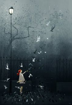 My favorite type of mornings. by PascalCampion