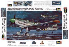 revell Bf109G 1969