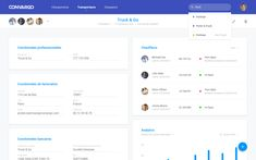 Dashboard & backoffice – MaterialUp