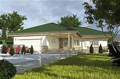 Projekt domu Nela V 137,4 m2 - koszt budowy - EXTRADOM House Plans, Mansions, House Styles, Outdoor Decor, Home Decor, Blueprints For Homes, Mansion Houses, Decoration Home, Manor Houses
