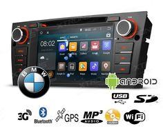 Radio Dvd para Bmw Serie 3 con Android y GPS