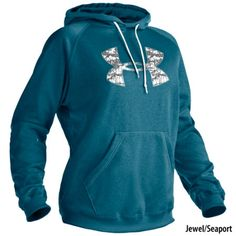Under Armour Women's Tackle Twill Hoodie - Look great and stay warm next time your out and about. The Tackle Twill hoodie by Under Armour® is semi fitted and features ColdGear® technology to help provide moisture wicking capabilities. Under Armour Camo, Under Armour Hoodie, Under Armour Women, Country Girl Style, Country Girls, Country Outfits, Country Life, Country Wear, Country Music