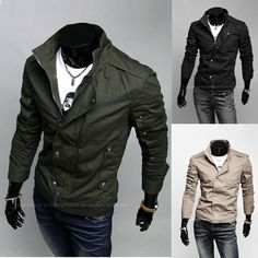 christmas style for men | Christmas Men's fashion Blazer casual Jacket Business suit coat men ...
