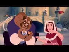 """Screencaps of Belle and The Beast from the 1991 Disney animated film """"Beauty and the Beast. Disney Amor, Disney Princess Quotes, Disney Songs, Disney Couples, Cute Disney, Disney Pixar, Disney Characters, Disney Challenge, Walt Disney Pictures"""