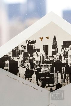 Couldn't you just see an envelope liner with a St. Louis skyline and The Arch? Helloooo M Haley Design????