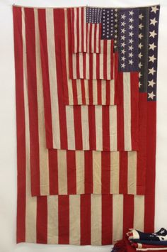 American Flag in varying sizes. An Old Glory cascade.