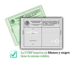 Consulta CURP - Descarga e Imprime tu CURP en línea.