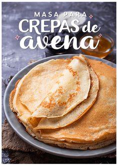 Sweet Recipes, Real Food Recipes, Vegan Recipes, Cooking Recipes, Yummy Food, Crepes, Vegan Foods, Cooking Light, Fitness Workouts