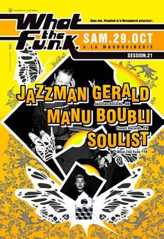 wtf#21 : Jazzman Gerald - 29/10/2005  (by Dré)