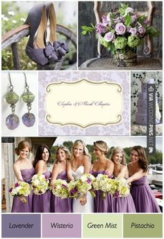 So neat - Purple And Green Wedding Theme — Wedding Ideas, Wedding Trends, and Wedding Galleries | CHECK OUT MORE IDEAS AT WEDDINGPINS.NET |