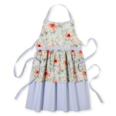 Red Floral Cooking Apron