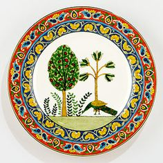 Voyage Peacock Plates, Set of 2 | World Market