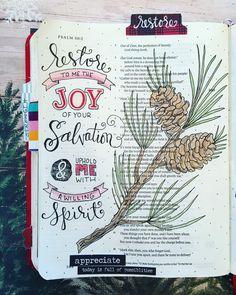 - Bible Journaling Ideas and Inspiration Faith Bible, My Bible, Bible Scriptures, Bible Psalms, Bible Notes, Scripture Art, Bible Art, Bible Study Journal, Art Journaling