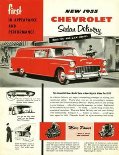 Chevrolet Sedan Delivery 1955