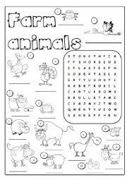 math worksheet : printable connect wild animals name worksheet for kids  : Pet And Wild Animals Worksheet For Kindergarten