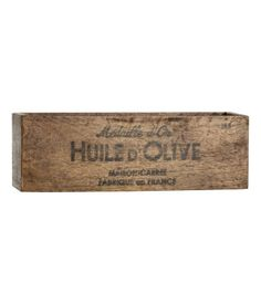 H&M Home – Heminredning & dekoration online Small Storage, Storage Boxes, Craft Storage, H & M Home, Vintage Crates, Little Girl Rooms, Wood Boxes, Decor Interior Design, Nordic Interior