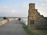 Walk or bike over the Lake Murray dam for exercise with a view!