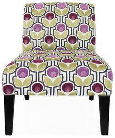 Urban Home Danielle Slipper Chair - modern - Chairs - Other Metro - Urban Home