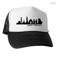Skyline Lisboa - Portugal Trucker Hat by - CafePress Color Combinations, Skyline, Store, Hats, Shopping, Fashion, Lisbon Portugal, Tent, Color Combos