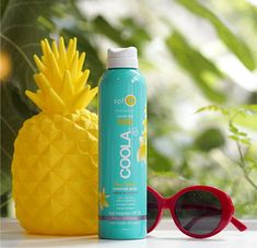 [productsample/affiliatelink] I have to say that I really prefer a spray SPF to the old rub-in method – it's just so much easier than finding someone to rub it into… Best Spf Sunscreen, Tanning Sunscreen, Raspberry Seed Oil, Holiday Mood, Pina Colada, Face And Body, Skincare, Fragrance, British