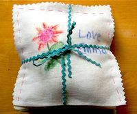 Mother's Day Gift:Drawer Sachets With Wise Craft - Things to Make and Do, Crafts and Activities for Kids - The Crafty Crow