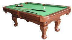 Billiard Table Pool Green Wooden Cue Game Balls Stick Triangle Chalk Accessories #BilliardTableUSA