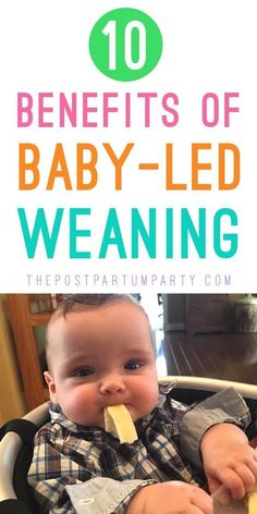 10 Benefits of Baby-led Weaning (BLW) - Starting solid foods with baby led weaning was such a great experience for us. Learn what baby-led weaning is Starting Solids Baby, Starting Solid Foods, Solids For Baby, Baby Led Weaning First Foods, Baby First Foods, Baby Weaning, Weaning Toddler, Baby Feeding Chart, Baby Feeding Schedule
