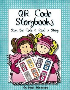 Online Storybooks; QR Codes Students can scan the QR code and choose a story to read. I've provided 8 different websites for this Reading/Literacy center activity. Lots of stories and books are provided on these websites. This product is editable so you can type comprehension questions on the blank iPods.