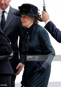 (EMBARGOED FOR PUBLICATION IN UK NEWSPAPERS UNTIL 48 HOURS AFTER CREATE DATE AND TIME) Princess Alexandra attends the funeral of Patricia Knatchbull, Countess Mountbatten of Burma at St Paul's Church, Knightsbridge on June 27, 2017 in London, England. Patricia, Countess Mountbatten of Burma daughter of Louis Mountbatten, 1st Earl Mountbatten of Burma and third cousin of Queen Elizabeth II died aged 93 on June 13 2017. (Photo by Max Mumby/Indigo/Getty Images)