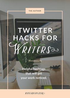 Twitter Hacks for Writers   Kayla Dean