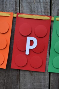 how to make a lego banner