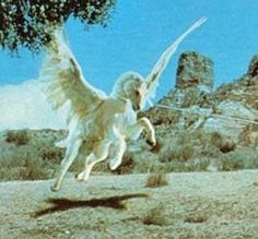 Pegasus from Clash of the Titans!  Still a classic movie!